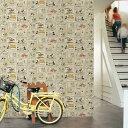 【ポイント20倍!】輸入壁紙 イギリス製 Graham&Brown / グラハム・アンド・ブラウン (1ロール(52cm×10m)単位で販売)紙製壁紙 【当店在庫品】【あす楽対応】