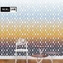 輸入壁紙 オランダ製 NLXL / NLXL LAB GRADIENT WALLPAPER BY THOMAS EURLINGS / TEU-01 Multicolor(1セット(146.1cm×330cm)単位で販売)フリース(不織布)【海外取り寄せ商品】