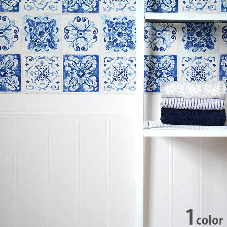 ホワイトの壁紙 はってはがせる 輸入 壁紙ドイツ製 ラッシュ Wallton Podium1ロール(74.5cm×10m)単位で販売フリース壁紙(不織布)