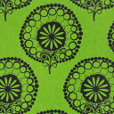 [輸入壁紙の切り売り(幅53cm×1m単位で切売) テックスデコ・ダマスク 180326] フリース(不織布)壁紙