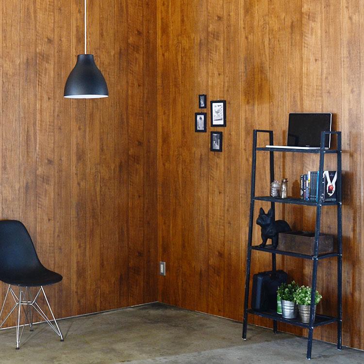 RoomClip商品情報 - のりなし 国産壁紙 (クロス)/ヴィンテージ男前ウッド SBB-8494