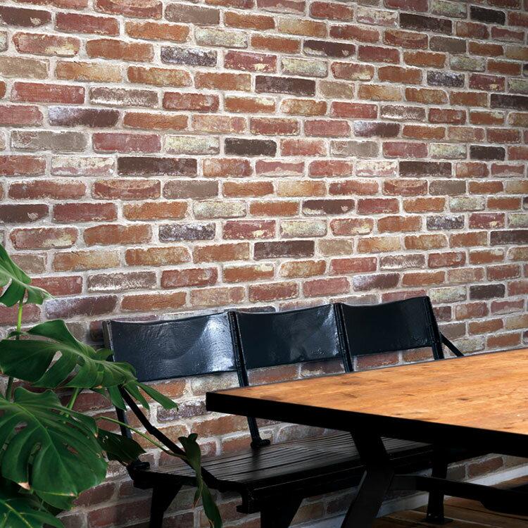 のりなし 国産壁紙 (クロス)/レンガ柄 ベーシック SFE-1233の写真