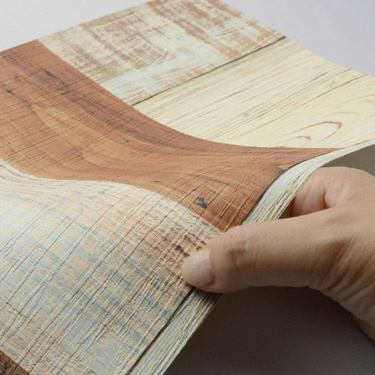 のりなし 国産壁紙 (クロス)/ランダムウッド...の紹介画像3