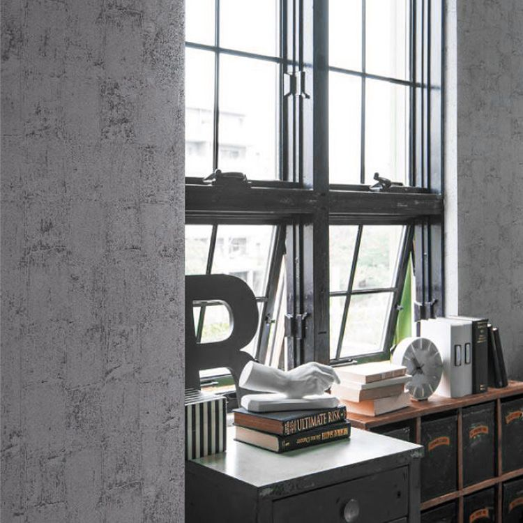 RoomClip商品情報 - 壁紙 のり付き コンクリート グレー クロス おしゃれ 壁紙 1m単位 塩系 モダン 壁紙張り替え diy リフォーム 国産壁紙 生のり付き SLL-8143