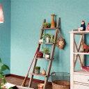 RoomClip商品情報 - 生のり付き 壁紙 (クロス)/ターコイズ・ブルーグリーンの壁紙 SBB-8325.