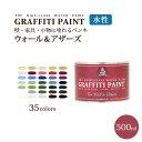 グラフィティーペイント ウォール&アザーズ(500ml)(塗布面積(2度塗り):約2.75平米)