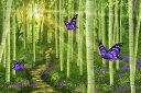 ưʪ ���˥ޥ� �ե����� ���Ȥ��Фʤ����ɻ�͢�� ���������ɻ� PHOTOWALL / Fantasy Forest (e20944)Ž�äƤϤ�����ե���ɻ�(�Կ���)�ڳ������Τ���1�������٤Ǥ��Ϥ��ۡ�������Բġ�
