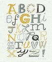 アート 絵画 キッズ こども部屋の壁紙輸入 カスタム壁紙 PHOTOWALL / Funky Letters (e21835)貼ってはがせる...
