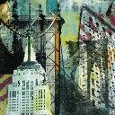 アート 絵画 都市 都会 摩天楼の壁紙 輸入 カスタム壁紙 PHOTOWALL / NY Graffiti 1 (e23439) 貼ってはがせるフリース壁紙(不織布) 【海外取り寄せのため1カ月程度でお届け】 【代引き不可】