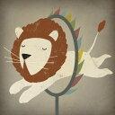 動物 アニマル アート 絵画の壁紙輸入 カスタム壁紙 PHOTOWALL / Circus Lion (e23848)貼ってはがせるフリース壁紙(不織布)【海外取り寄せのため1カ月程度でお届け】【代引き不可】