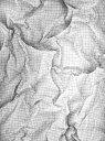 【最大5000円引クーポン配布中!2/16(日)1:59まで】フェイク だまし絵 格子柄の壁紙 輸入 カスタム壁紙 PHOTOWALL / Wrinkled Squared Paper 2 (e24444) 貼ってはがせるフリース壁紙(不織布) 【海外取り寄せのため1カ月程度でお届け】 【代引き不可】