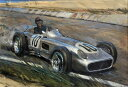 ビンテージ ヴィンテージ 車 くるまの壁紙 輸入 カスタム壁紙 PHOTOWALL / J M Fangio at Speed (e40417) 貼ってはがせるフリース壁紙(不織布) 【海外取り寄せのため1カ月程度でお届け】 【代引き・後払い不可】
