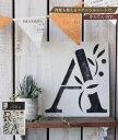 ステンシルシート  小屋女子計画ステンシル(シートサイズ:36cm×53cm)