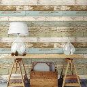 はがせる 壁紙 シール NuWallpaper貼ってはがせる シール 壁紙 リメイクシート壁 家具 お風呂などにも貼れる!NU2188ペイントウッド スクラップウッド柄