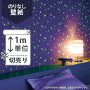 壁紙 クロス国産壁紙(のりなしタイプ)/リリカラ Kids&Family(蓄光) LL-8380(販売単位1m)