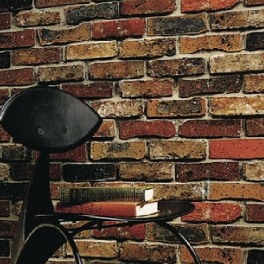 Rakuten: Brick pattern wallpaper wall accents to the perfect