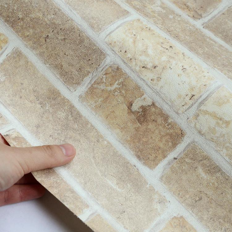壁紙 クロス レンガ [国産壁紙(のりなしタイプ)/サンゲツRE-7439(販売単位1m)]【10m以上送料無料】※法人名義の領収書も発行の写真
