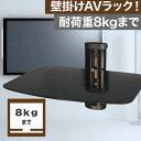 【送料無料/ポイント10倍】 壁掛けラック PRM-M05S-1 収納ラック(8kgまでOK) 周辺機器も壁面に収納。