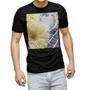 ショッピングキーボード tシャツ メンズ 半袖 ブラック デザイン XS S M L XL 2XL Tシャツ ティーシャツ T shirt 黒 000924 花 キーボード