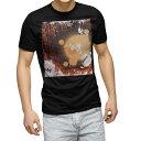 ショッピングラグ tシャツ メンズ 半袖 ブラック デザイン XS S M L XL 2XL Tシャツ ティーシャツ T shirt 黒 001240 ラグビー スポーツ