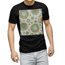 ショッピングORANGE tシャツ メンズ 半袖 ブラック デザイン XS S M L XL 2XL Tシャツ ティーシャツ T shirt 黒 004026 模様 青 オレンジ