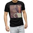 ショッピング色鉛筆 tシャツ メンズ 半袖 ブラック デザイン XS S M L XL 2XL Tシャツ ティーシャツ T shirt 黒 006471 写真 色鉛筆