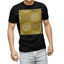 ショッピングアジアン tシャツ メンズ 半袖 ブラック デザイン XS S M L XL 2XL Tシャツ ティーシャツ T shirt 黒 010356 アジアン フラワー オレンジ