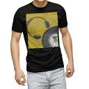 ショッピングヘッドホン tシャツ メンズ 半袖 ブラック デザイン XS S M L XL 2XL Tシャツ ティーシャツ T shirt 黒 011394 音楽 ヘッドホン ミュージック