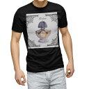 ショッピングblack tシャツ メンズ 半袖 ブラック デザイン XS S M L XL 2XL Tシャツ ティーシャツ T shirt 黒 012569 香水 おしゃれ エレガント