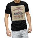 ショッピングイラスト tシャツ メンズ 半袖 ブラック デザイン XS S M L XL 2XL Tシャツ ティーシャツ T shirt 黒 014878 バイク イラスト クール