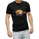 ショッピング正月飾り tシャツ メンズ 半袖 ブラック デザイン XS S M L XL 2XL Tシャツ ティーシャツ T shirt 黒 015619 正月飾り 元旦 正月