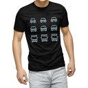 ショッピングドライブレコーダー tシャツ メンズ 半袖 ブラック デザイン XS S M L XL 2XL Tシャツ ティーシャツ T shirt 黒 016168 ドライブレコーダー