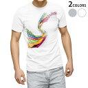 ショッピング半袖 tシャツ メンズ 半袖 ホワイト グレー デザイン XS S M L XL 2XL Tシャツ ティーシャツ T shirt 003325 シンプル カラフル