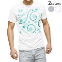 ショッピング雪 tシャツ メンズ 半袖 ホワイト グレー デザイン XS S M L XL 2XL Tシャツ ティーシャツ T shirt 004177 雪 結晶 青