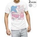 ショッピングイラスト tシャツ メンズ 半袖 ホワイト グレー デザイン XS S M L XL 2XL Tシャツ ティーシャツ T shirt 005118 ハート 星 イラスト