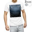 ショッピングブルー tシャツ メンズ 半袖 ホワイト グレー デザイン XS S M L XL 2XL Tシャツ ティーシャツ T shirt 005766 青 ブルー ハート