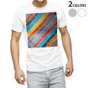 ショッピングTシャツ tシャツ メンズ 半袖 ホワイト グレー デザイン XS S M L XL 2XL Tシャツ ティーシャツ T shirt 006362 カラフル 模様