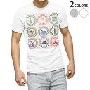ショッピングTシャツ tシャツ メンズ 半袖 ホワイト グレー デザイン XS S M L XL 2XL Tシャツ ティーシャツ T shirt 009430 外国 風景 建物