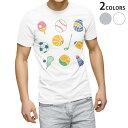 ショッピング半袖 tシャツ メンズ 半袖 ホワイト グレー デザイン XS S M L XL 2XL Tシャツ ティーシャツ T shirt 009641 スポーツ 球技 ボール