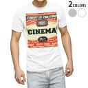 ショッピングポスター tシャツ メンズ 半袖 ホワイト グレー デザイン XS S M L XL 2XL Tシャツ ティーシャツ T shirt 010295 英語 ポスター 赤
