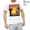 ショッピング写真 tシャツ メンズ 半袖 ホワイト グレー デザイン XS S M L XL 2XL Tシャツ ティーシャツ T shirt 010521 写真 サファリ 動物