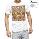 tシャツ メンズ 半袖 ホワイト グレー デザイン XS S M L XL 2XL Tシャツ ティーシャツ T shirt 010620 アート 模様 カラフル