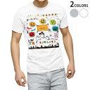 ショッピングランタン tシャツ メンズ 半袖 ホワイト グレー デザイン XS S M L XL 2XL Tシャツ ティーシャツ T shirt 011695 おばけ ハロウィン ジャックランタン