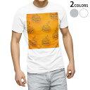 ショッピングハロウィン tシャツ メンズ 半袖 ホワイト グレー デザイン XS S M L XL 2XL Tシャツ ティーシャツ T shirt 012422 かぼちゃ オレンジ ハロウィン