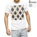 ショッピングリボン tシャツ メンズ 半袖 ホワイト グレー デザイン XS S M L XL 2XL Tシャツ ティーシャツ T shirt 012617 柊 リボン クリスマス