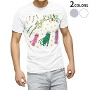 ショッピング星 tシャツ メンズ 半袖 ホワイト グレー デザイン XS S M L XL 2XL Tシャツ ティーシャツ T shirt 013865 七夕 短冊 星