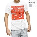 ショッピングSHIRTS tシャツ メンズ 半袖 ホワイト グレー デザイン XS S M L XL 2XL Tシャツ ティーシャツ T shirt 014211 音楽 楽器 ミュージック