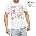 ショッピング家具 tシャツ メンズ 半袖 ホワイト グレー デザイン XS S M L XL 2XL Tシャツ ティーシャツ T shirt 014877 家具 イラスト おしゃれ