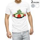 ショッピング正月飾り tシャツ メンズ 半袖 ホワイト グレー デザイン XS S M L XL 2XL Tシャツ ティーシャツ T shirt 015613 正月飾り 元旦 正月