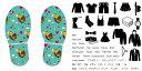 デザイン靴置きステッカー 大人用靴置き マーク くつ 収納 シール ステッカー 整理整頓 ウォールステッカー ラベルシール ミニマリスト 服 玄関 60×30cm 004624 鳥 ハート 模様